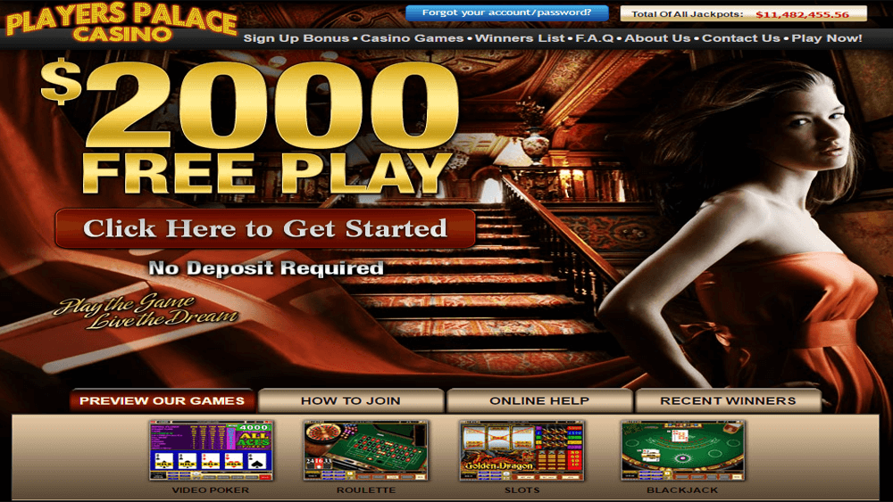 players palace online casino
