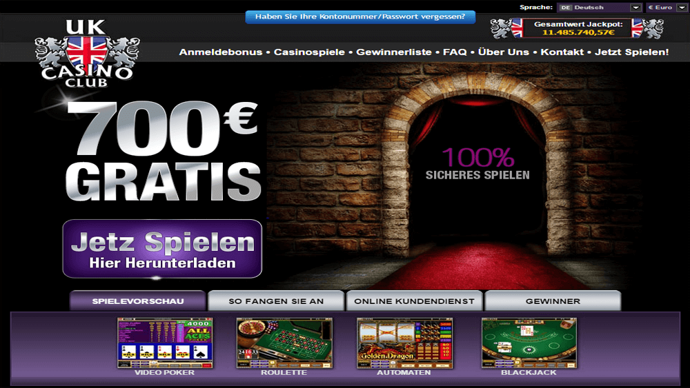 Play Club Roulette at Casino.com UK